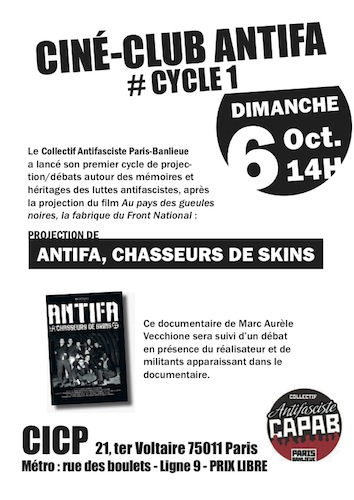 Flyer ciné club - cycle1 #2
