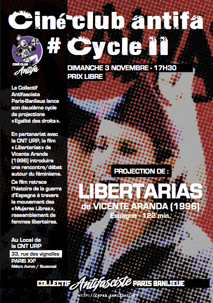 Ciné-club Cycle 2 Libertarias