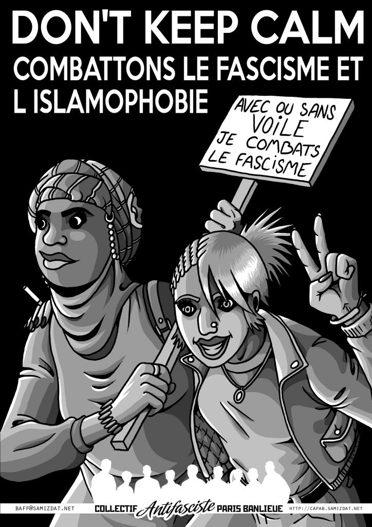 Affiche meufs islamophobie